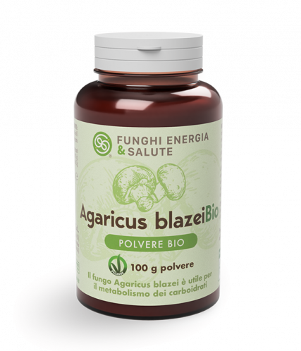 integratori-Agaricus blazei Organic Powder